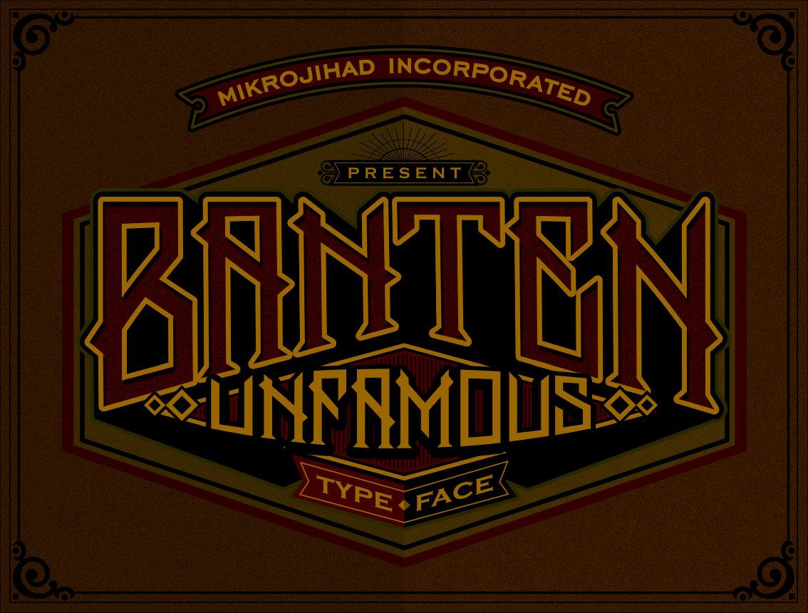 Banten Unfamous