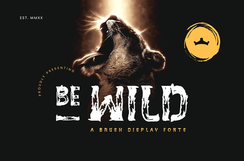 Be Wild Brush