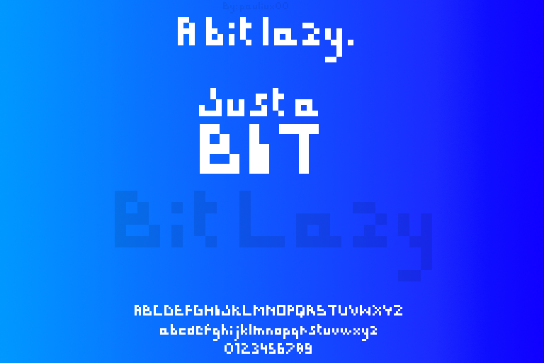 Bit Lazy
