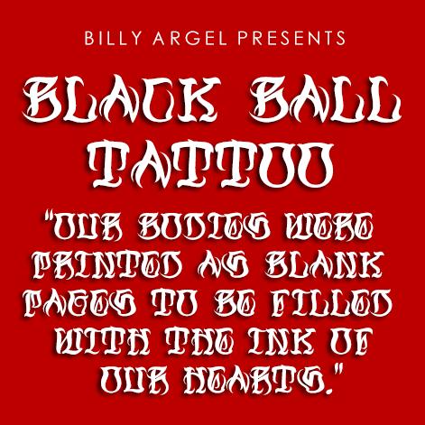 Black Ball Tattoo