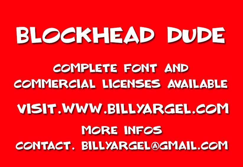 Blockhead Dude