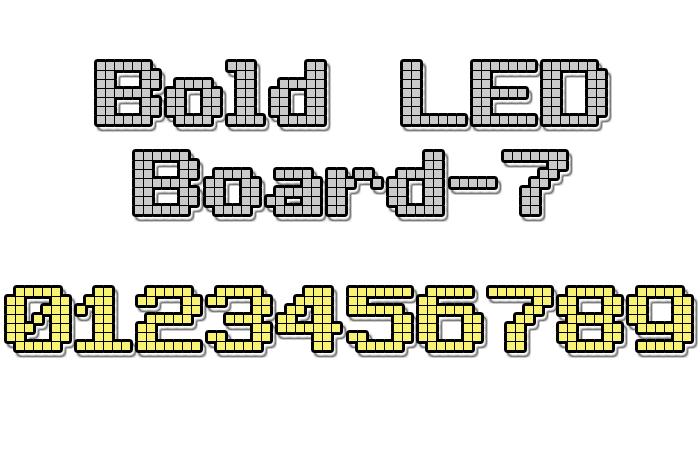 Bold LED Board-7