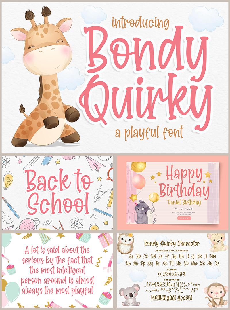 Bondy Quirky