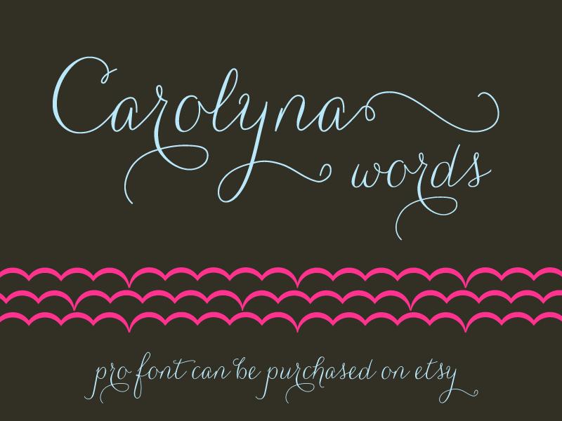 Carolyna Words