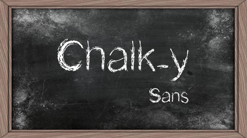Chalk-y