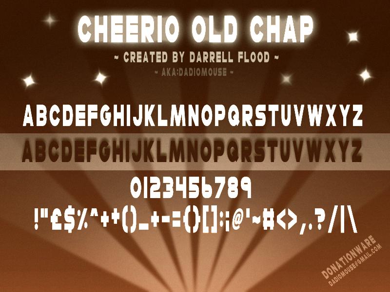 Cheerio Old Chap