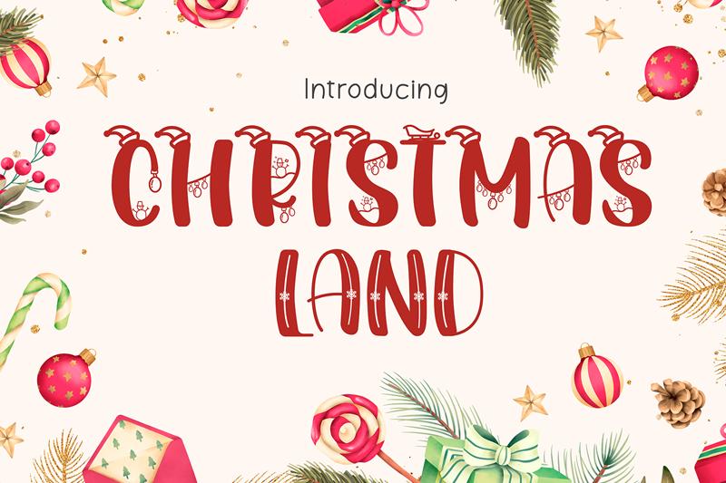 Christmasland Decorative