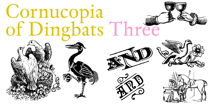 Cornucopia of Dingbats Three