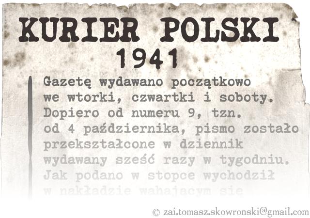 Courier Polski 1941