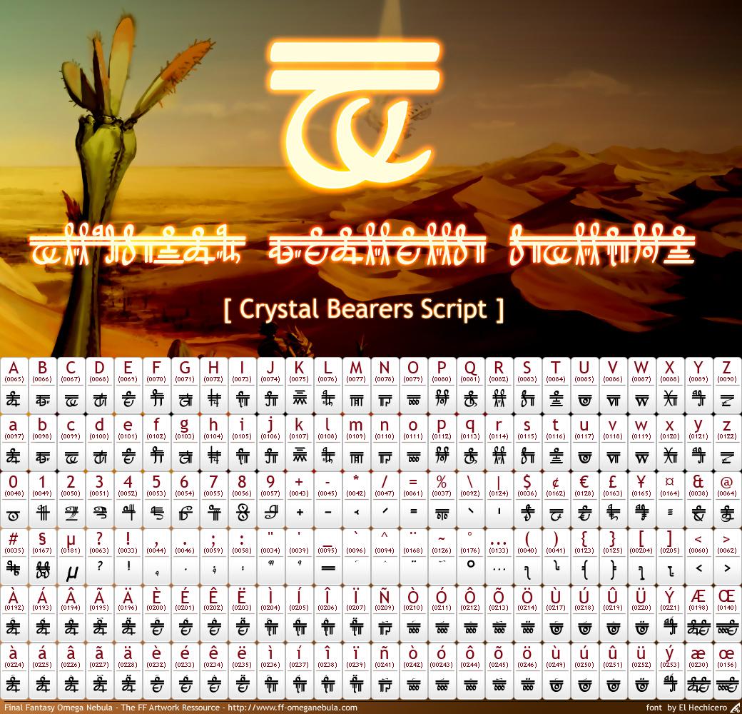 Crystal Bearers Script