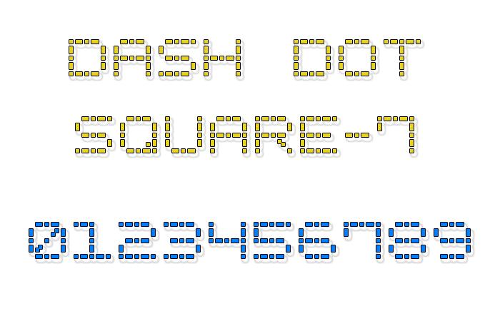 Dash Dot Square-7