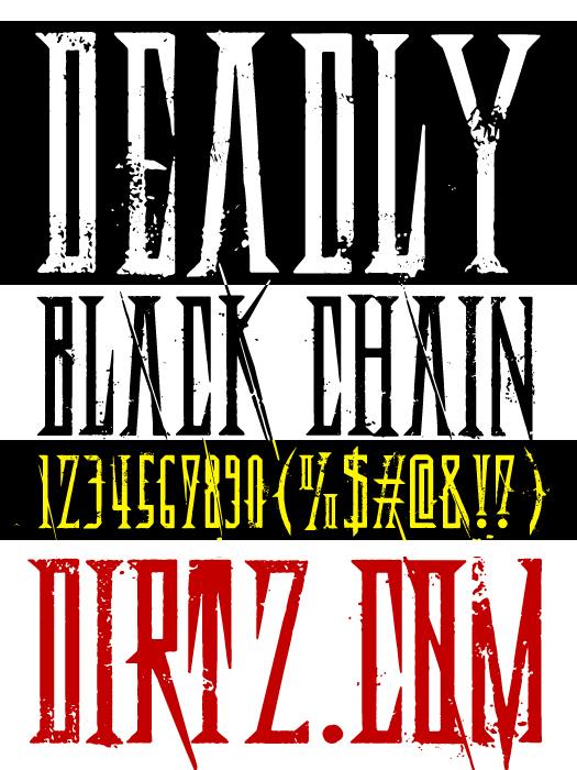 Deadly Black Chain