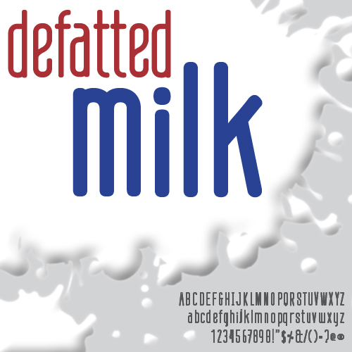Defatted Milk