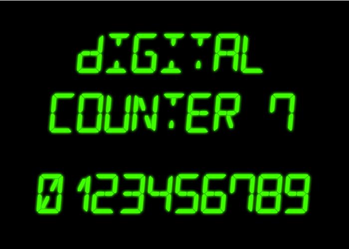 Digital Counter 7