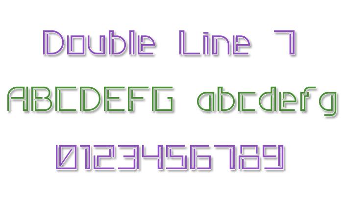 Double Line 7