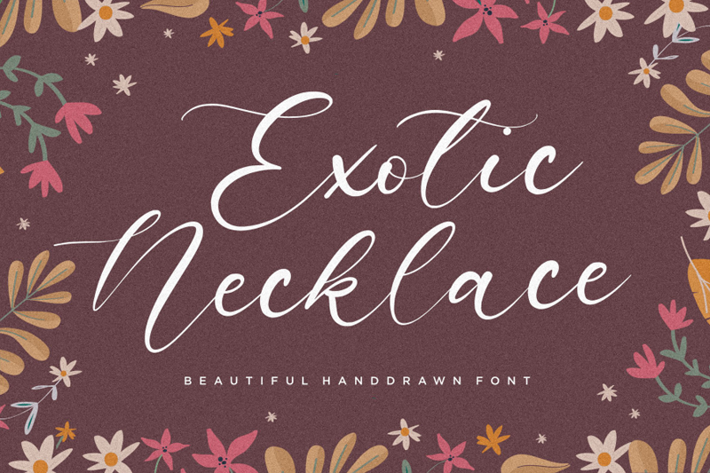 Exotic Necklace