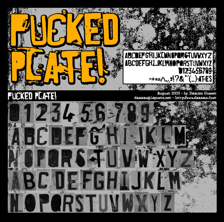 Fucked Plate