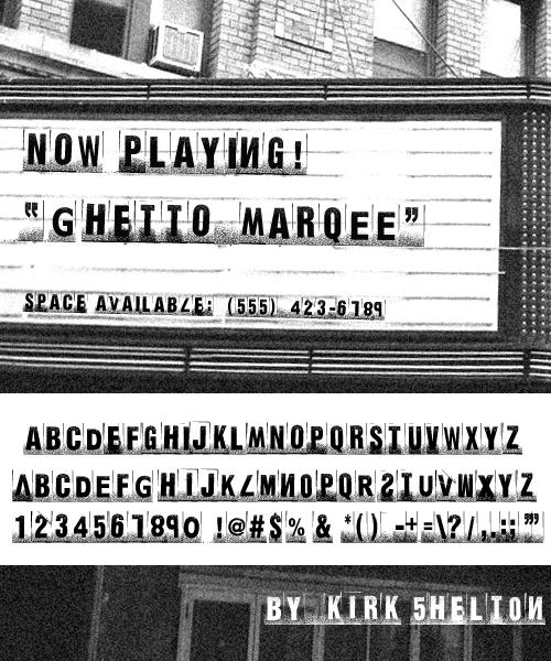 Ghetto Marquee