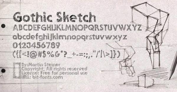 Ghotic Sketch