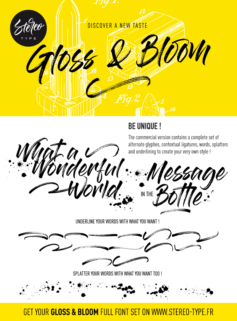 Gloss And Bloom