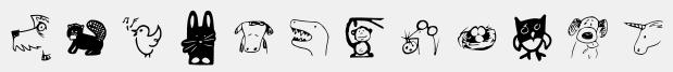 GM Doodles Animals
