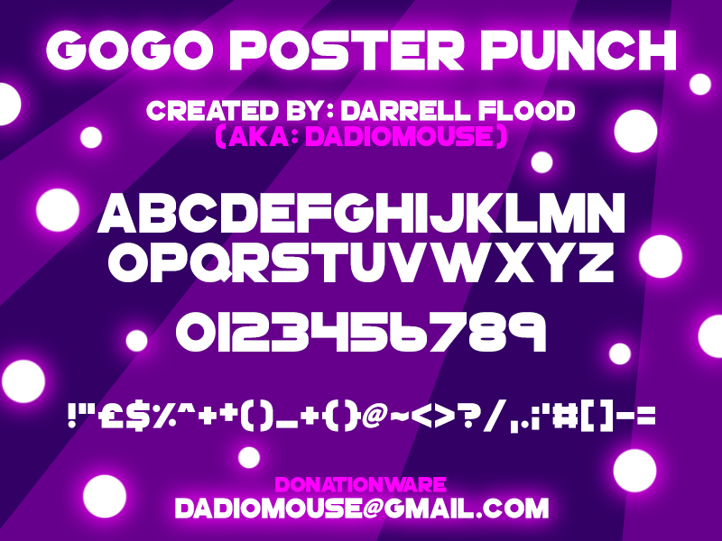 GoGo Poster Punch