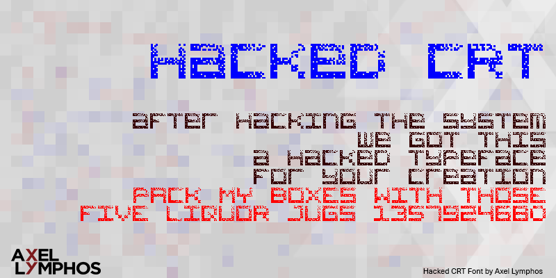Hacked CRT