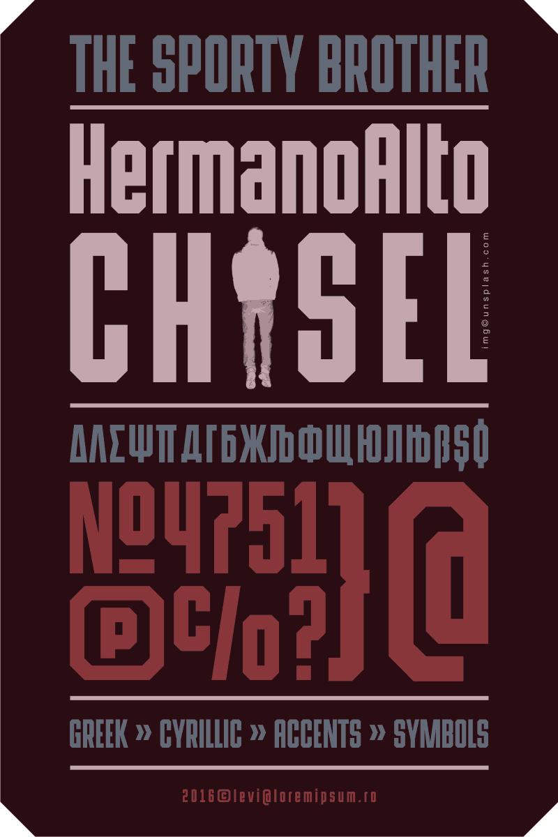HermanoAlto Chisel