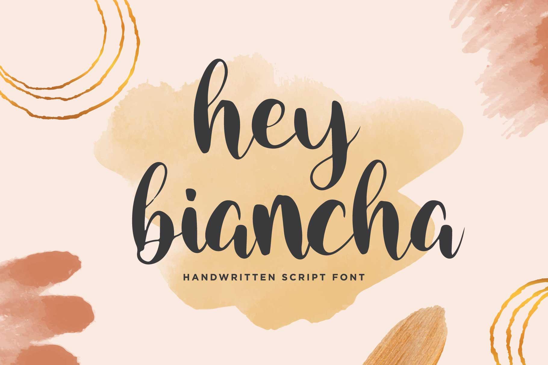 Hey Biancha