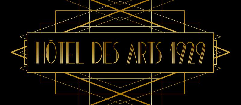 Hotel Des Arts 1929