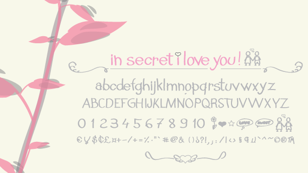 In Secret i Love You