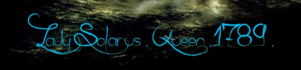 Lady Solarus Queen 1789