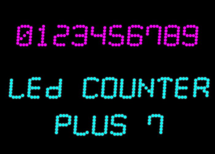LED Counter Plus 7