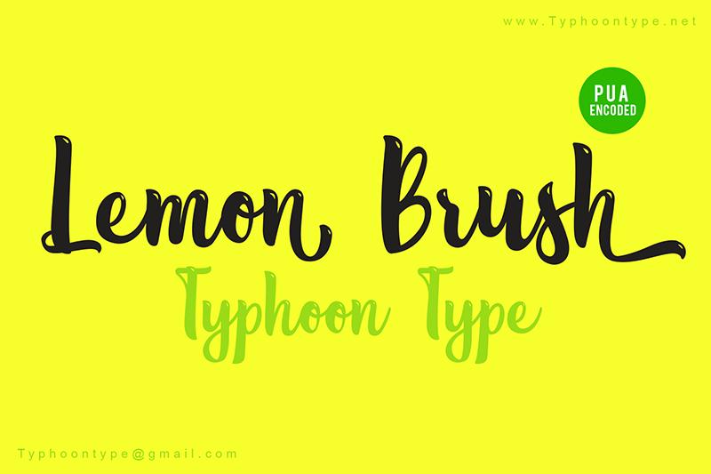 Lemon Brush
