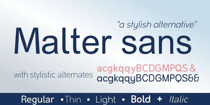 Malter Sans