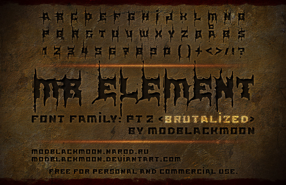 MB Element Brutalized
