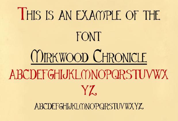 Mirkwood Chronicle