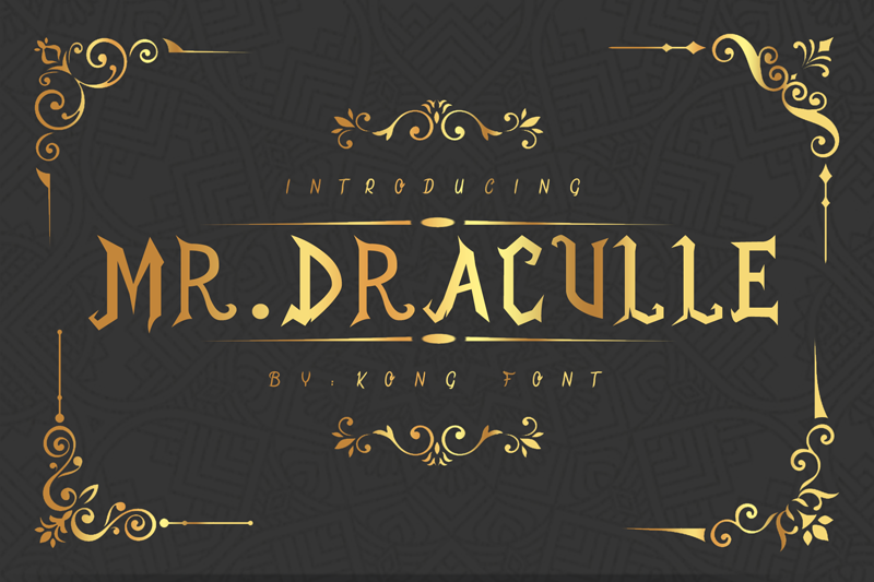 Mr.Draculle
