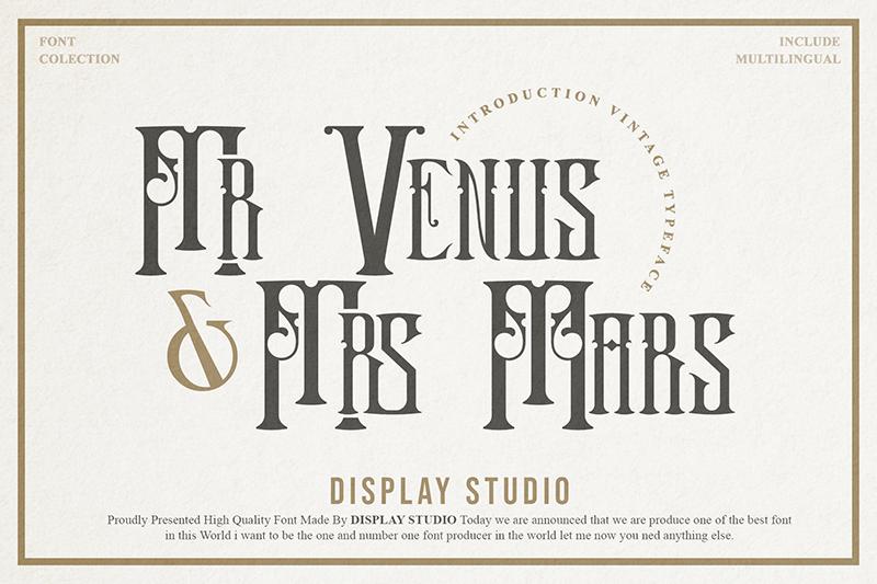 Mr.Venus & Mrs.Mars