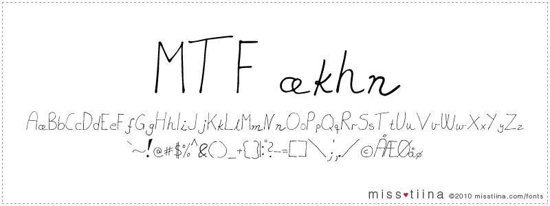 MTF Akhn