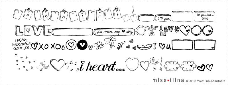 MTF I Heart Sketches