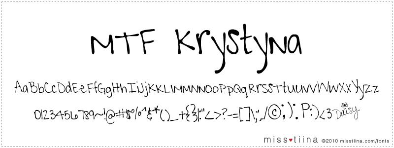 MTF Krystyna