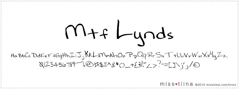 MTF Lynds