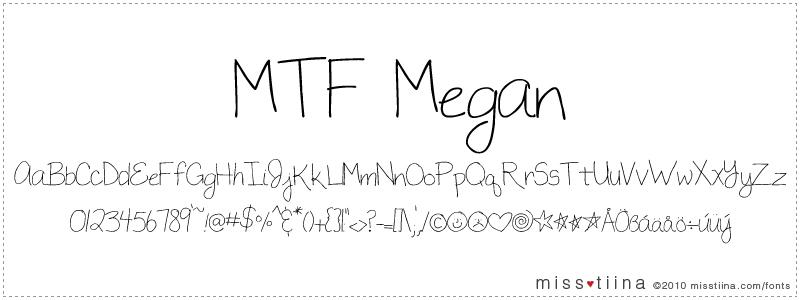 MTF Megan