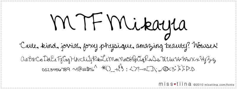 MTF Mikayla