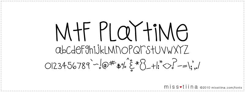 MTF Playtime