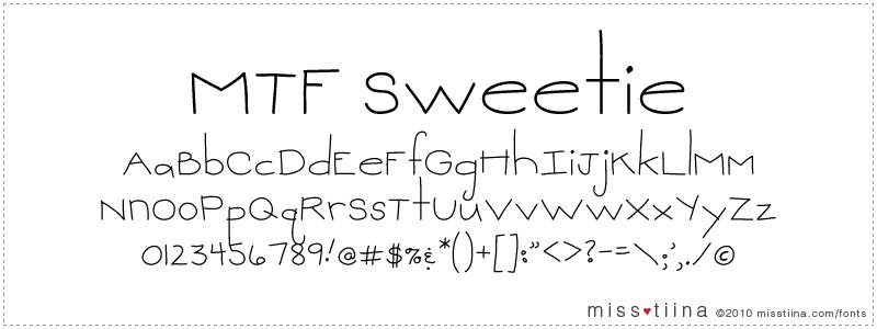 MTF Sweetie