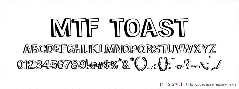 MTF Toast