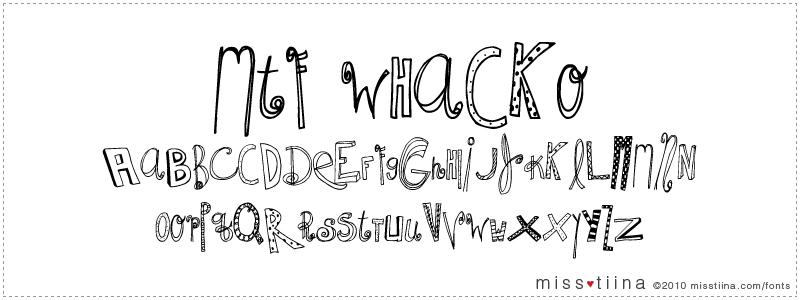 MTF Whacko