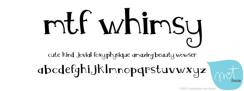 MTF Whimsy